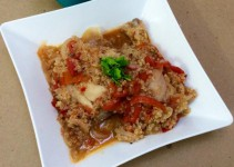 Estofado de pollo y quinoa