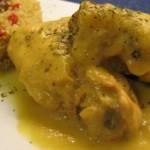 Jamoncitos de Pollo al Curry