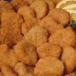 nuggets de pollo con miel