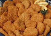 nuggets de pollo con miel