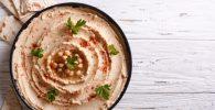 15 recetas con hummus para cenar