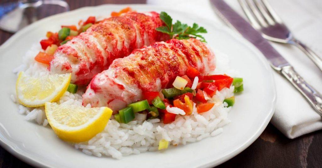Recette de queues de homard à l'ail