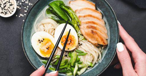 Consejos para preparar Ramen de Pollo y Verduras