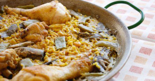 Receta de paella valenciana paso a paso