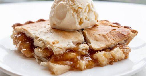 Ingredientes tarta de manzana con crema pastelera y masa quebrada