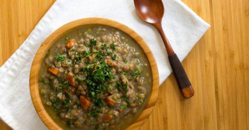 Mejor receta de lentejas con verduras