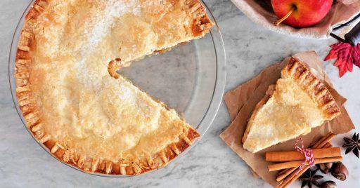 Paso a paso para hornear tarta de manzana con crema pastelera