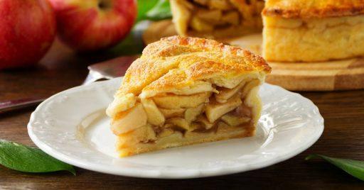 Procedimiento para la tarta de manzana con crema pastelera
