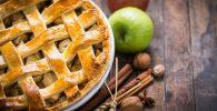 Receta de tarta de manzana con crema pastelera perfecta